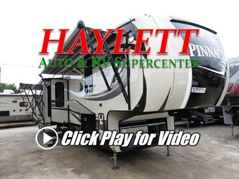 HaylettRV com - 2017 Jayco Pinnacle 36FBTS Front Bathroom Luxury Fifth  Wheel RV