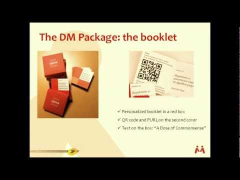 How to create successful direct marketing with direct mail, QR, personalized communication