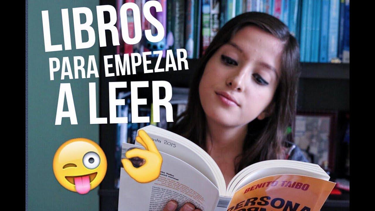 LIBROS PARA EMPEZAR A LEER