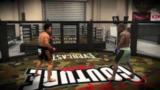 EA Sports MMA - sterowanie PS3