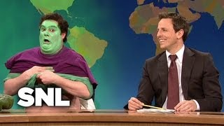 Weekend Update: The Hulk's Disappointing Transformation - SNL