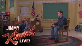 Jimmy Talks to Kids - Richest Person/Cutting Hair