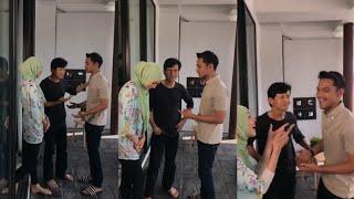 Video Syafiq Kyle cuak kena sound dengan ayah Zahirah Macwilson on set Tak Ada Cinta Sepertimu download MP3, 3GP, MP4, WEBM, AVI, FLV Juni 2018