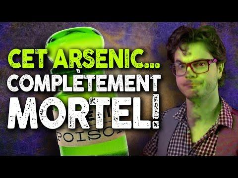 un empoisonnement au cyanure bizarrerie : cet arsenic... complètement mortel !