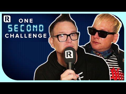 Blink-182's Mark Hoppus vs Matt Skiba With Rocksound's One Second Challenge