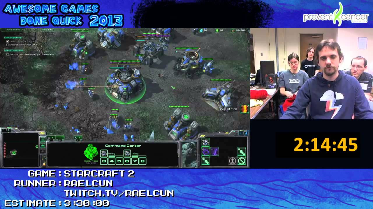 Starcraft 2 Played Live Brutal Difficulty At Awesome