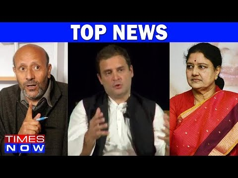 Engineer Rashid Exposed, Rahul Gandhi At Berkeley & Other Top News Of The Day