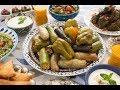 في ضيافة آسيا - محشي الخس - محاشي بنكهة الشواء - محشي ورق عنب بدبس الرمان - الجزء 3