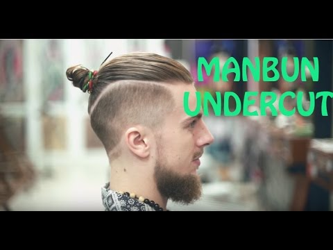 Best Barber In The World The Undercut Manbun Youtube