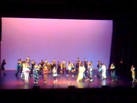 TOM'D at NSU Culture Night 2011: Kyodo Taiko, Odori, Nikkei Student Union Modern Dance