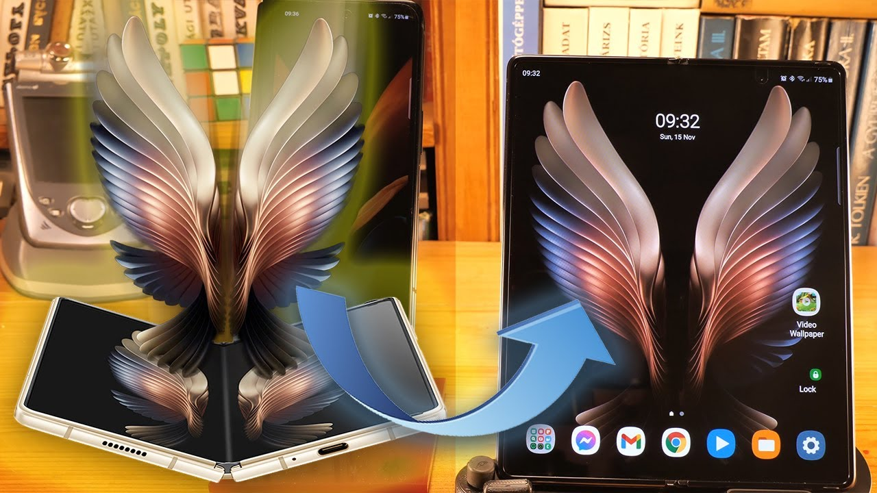 Samsung Special Edition Live Wallpaper To Galaxy Z Fold 2 Youtube
