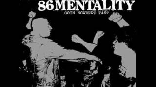 86 mentality - blood red violence