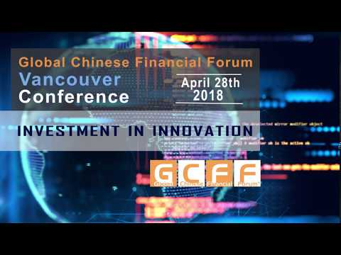 Manie Eager, Keynote speaker in Blockchain at the GCFF Vancouver Conference 2018