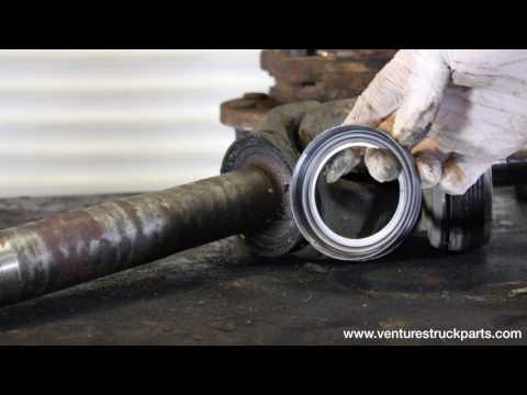 Ford F250 F350 98-04 Super Duty Front Axle Disassembly Tear Down Walk Through Trouble Shoot
