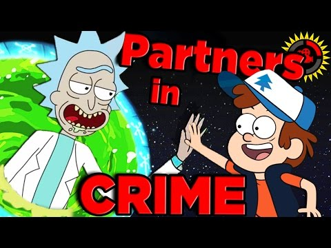 Thumbnail: Film Theory: The Rick and Morty / Gravity Falls CROSSOVER Conspiracy!