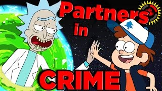 Film Theory: The Rick and Morty / Gravity Falls CR...