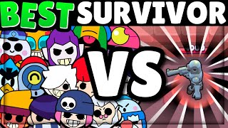 EVERY Brawler vs Survival Test! | Brawl Stars Olympics!