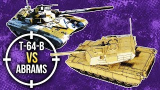 War Thunder: Т-64B vs M1 Abrams