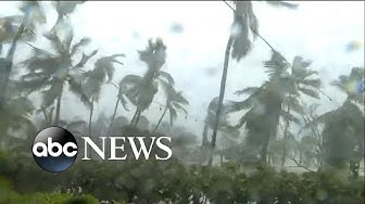 Hurricane Dorian tears through parts of the Bahamas