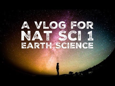 NAT SCI 1 - Earth Science
