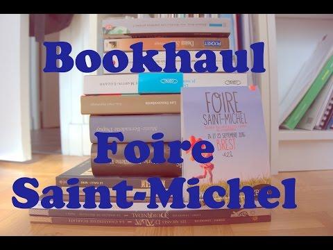 Book haul foire Saint Michel Brest
