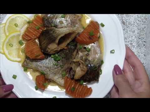 рыбные консервы из карася ,в собственном соку, в мультиварке