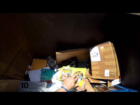 Dumpster Diving Gamestop, Office max, Schools, and recycling bins. Week 34