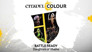How to Paint: Battle Ready Daughters of Khaine