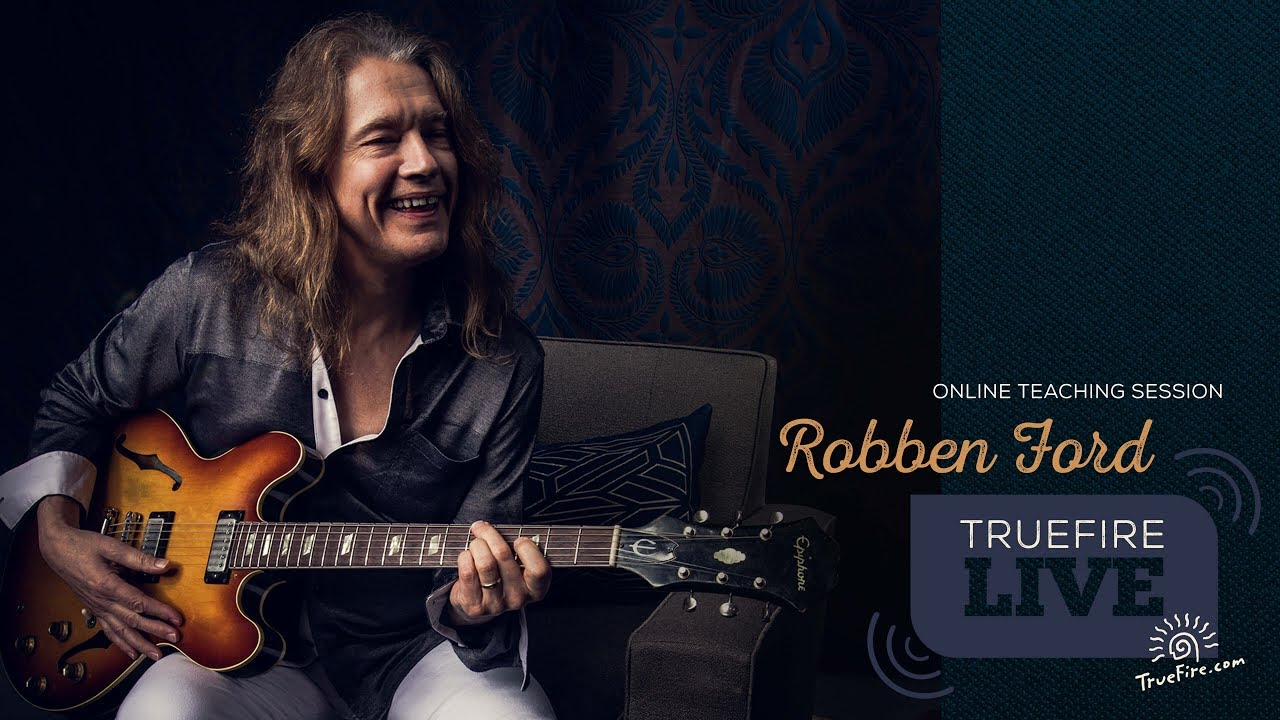Guitarist Robben Ford streams 1.5hr teaching session for fans on TrueFire