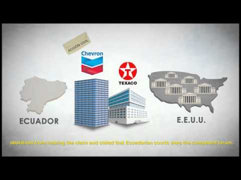 Chevron Case: Ecuador's Defense
