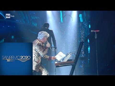Sanremo 2020 - Bugo abbandona il palco dell'Ariston