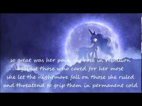 lullaby for a princess luna's reply with lyrics, i hope you all enjoy