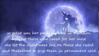 Repeat youtube video lullaby for a princess luna's reply with lyrics