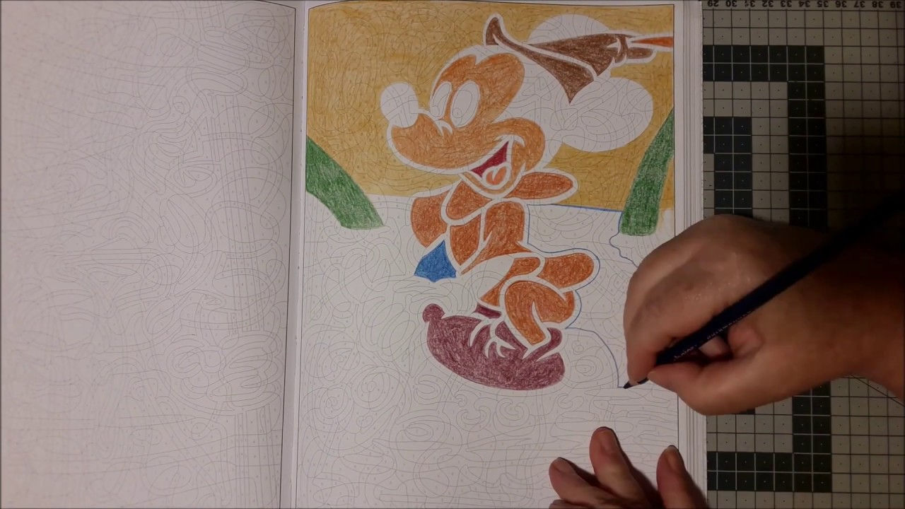 Coloriage mystère Disney 26 - YouTube