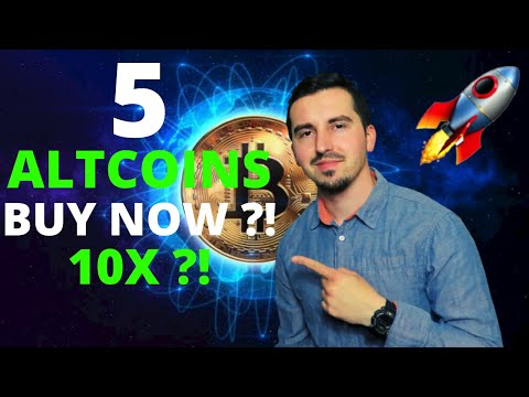 TOP 5 Crypto To Invest In May 2021 🚀|HUGE POTENTIAL 10X ?! 🔥| Altcoin Season |