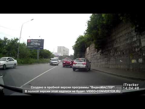 авария ,ул Котельникова,Владивосток