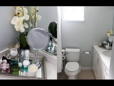Bathroom Makeover - Decor Ideas