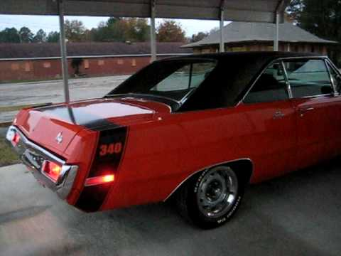 1970 Dodge Dart Swinger 340 Youtube