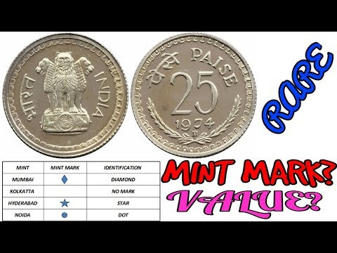 25 Paisa Old Coins Value | Rare Coins Mint Mark Year | Special Series