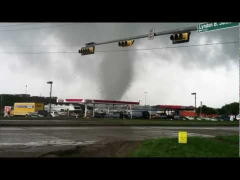 EF2 Tornado in Lancaster, TX - 03APR2012