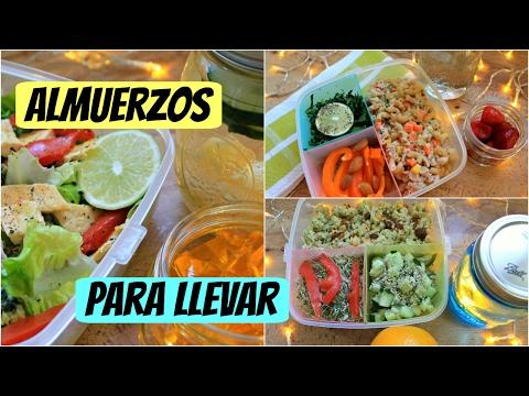 Almuerzos|Comidas saludables para llevar (Opción vegana incluida)