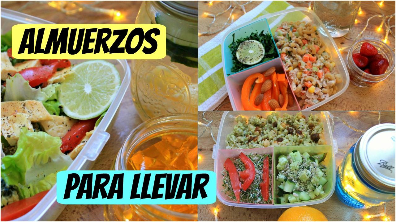 comidas para llevar una alimentacion saludable