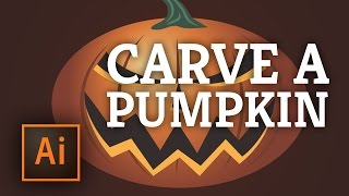 Adobe Illustrator: Carving a Pumpkin for Halloween