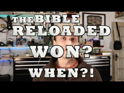 The Bible Reloaded lawsuit WON?! When?