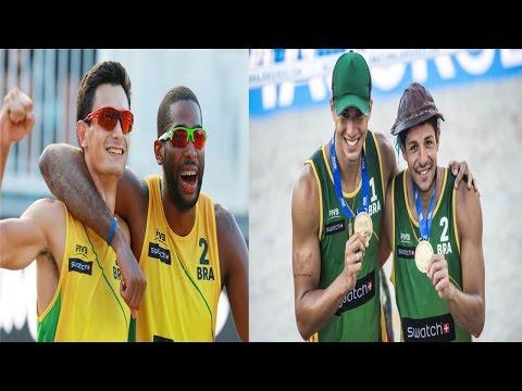 Beachvolley- Evandro/Andre vs Álvaro Filho/Saymon -Fort Lauderdale major WORLD TOUR 5 star Pool H