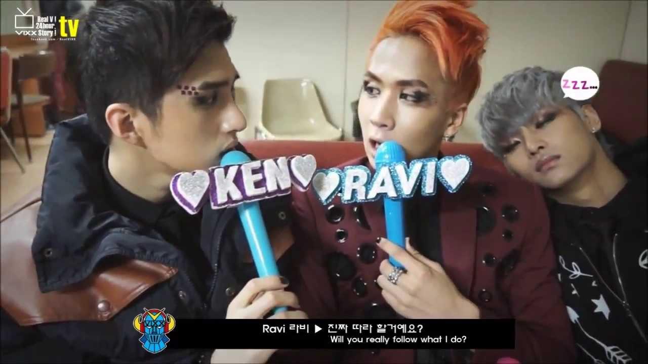 vixx ken is imitated by ravinhongbin youtube