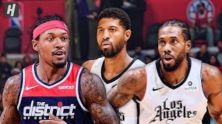 Washington Wizards vs Los Angeles Clippers - Full Game Highlights | Dec 1, 2019 | 2019-20 NBA Season