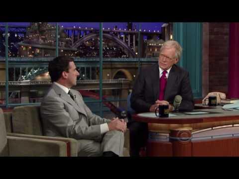 Steve Carell on Letterman 07/20/2010 Part 1