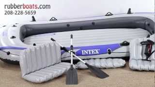 The NEW Intex Excursion 5 Inflatable Raft