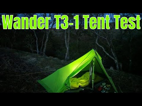 Fast & Light Wild Camp - Wander T3-1 Tent